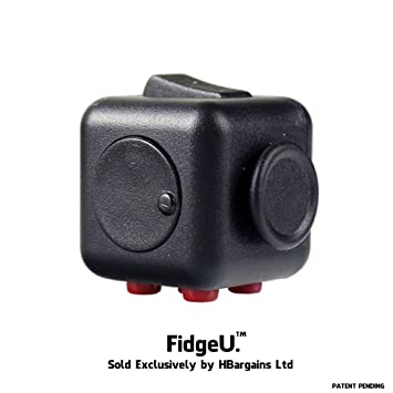 FidgeU The Best Fidget Cube For Stress Relief Children And Adults With ADHD Release Tension
