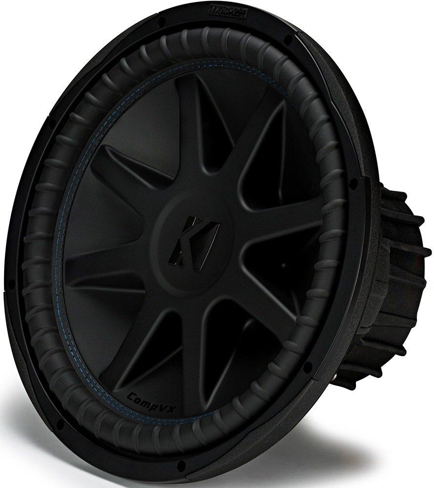 """Amazon.com: Kicker CVX152 COMPVX 15"""" Subwoofer Dual Voice Coil 2-Ohm 1000W:  Car Electronics"""