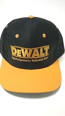 DEWALT New Hi Performance Adjustable Snap-Back Baseball Cap - One ... 76180c95b43