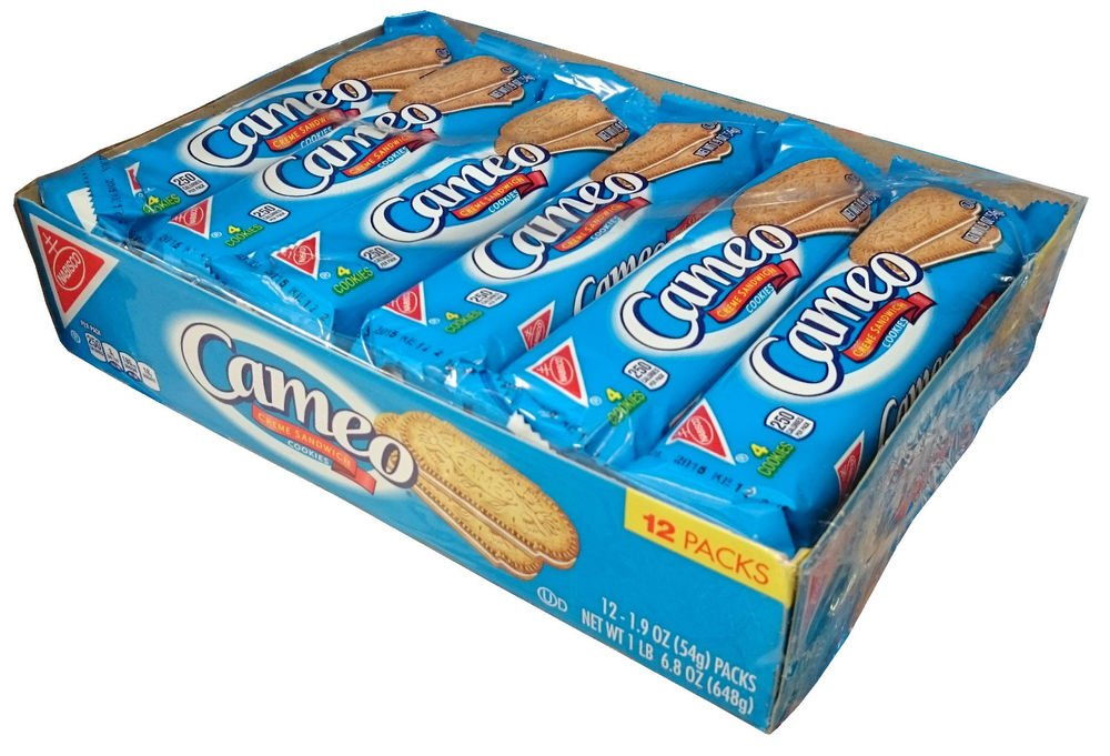 Cameo Creme Sandwich Cookies (2 Box 12 Pack)