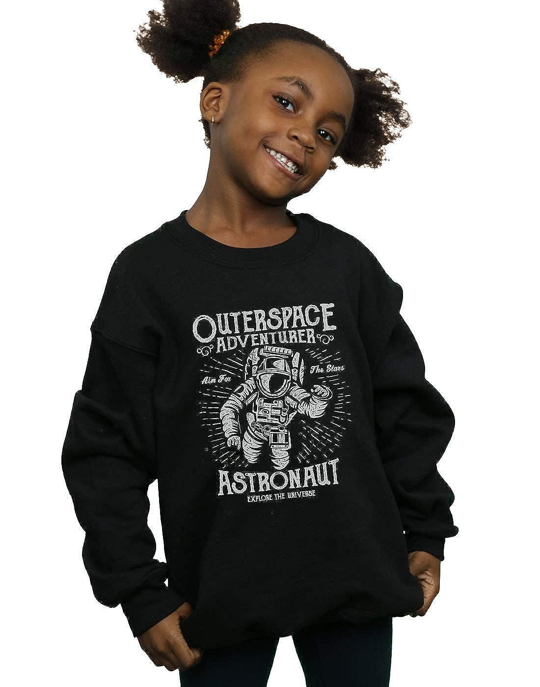 Absolute Cult Drewbacca Girls Astronaut Adventurer Sweatshirt