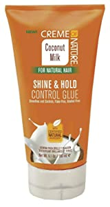 Creme Of Nature Coconut Milk Shine & Hold Control Gel 5.1 Ounce (150ml)