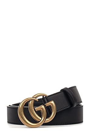2363b19fa Gucci Men's 414516AP00T1000 Black Leather Belt: Amazon.co.uk: Clothing