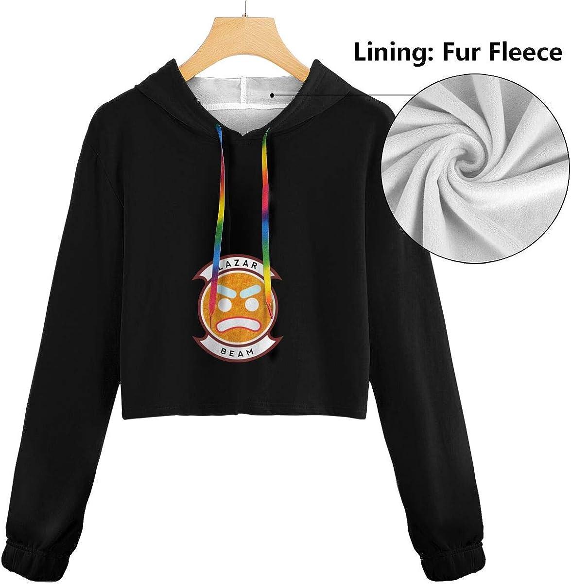 Lazarbeam Fashion Hoodie Long Sleeve Crop Top Sweatshirt Hoodies for Women