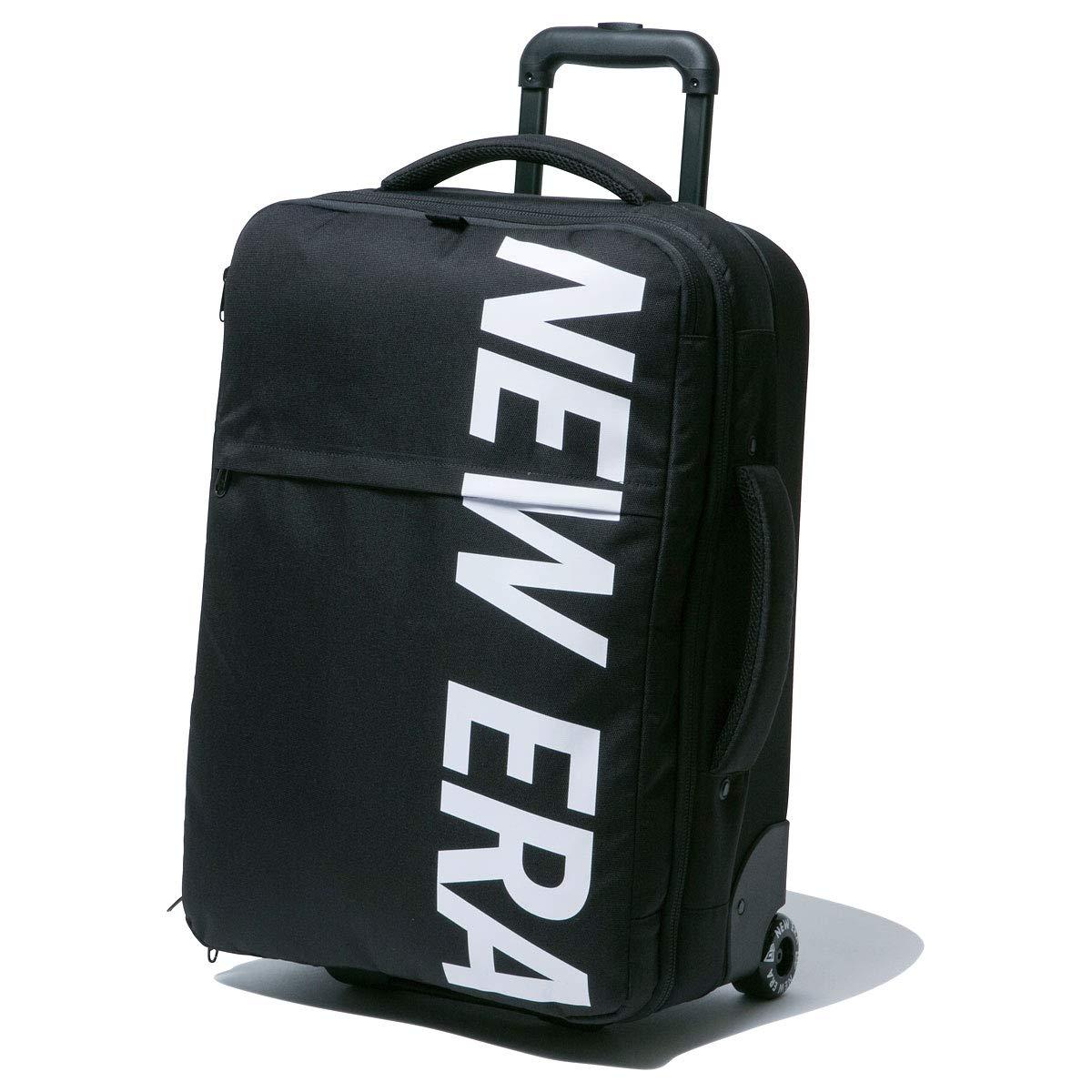 New Era ニューエラ バッグ キャリーバッグ ホイールバッグ ブラック ホワイト 11404105 One Size ブラック B07NFFMRTP