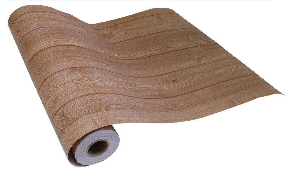 はがせるシール壁紙 賃貸OK 50cm幅 Hyundae Sheet 木目 ウッド デザイン (15mパック+道具4点セット, 1●HWN-22316 ホワイトベージュ) B072Z3P79N 15mパック+道具付きセット|HWN-22316 ホワイトベージュ