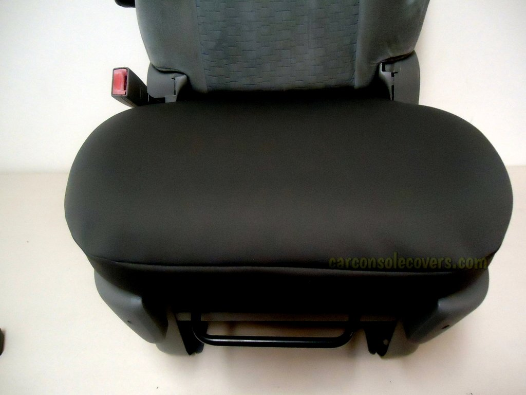 Car Console Covers Plus Made in USA Neoprene Bucket Seat Cover Designed to fit All Ram Truck Models 2010-2019 Price is for 1 Gray