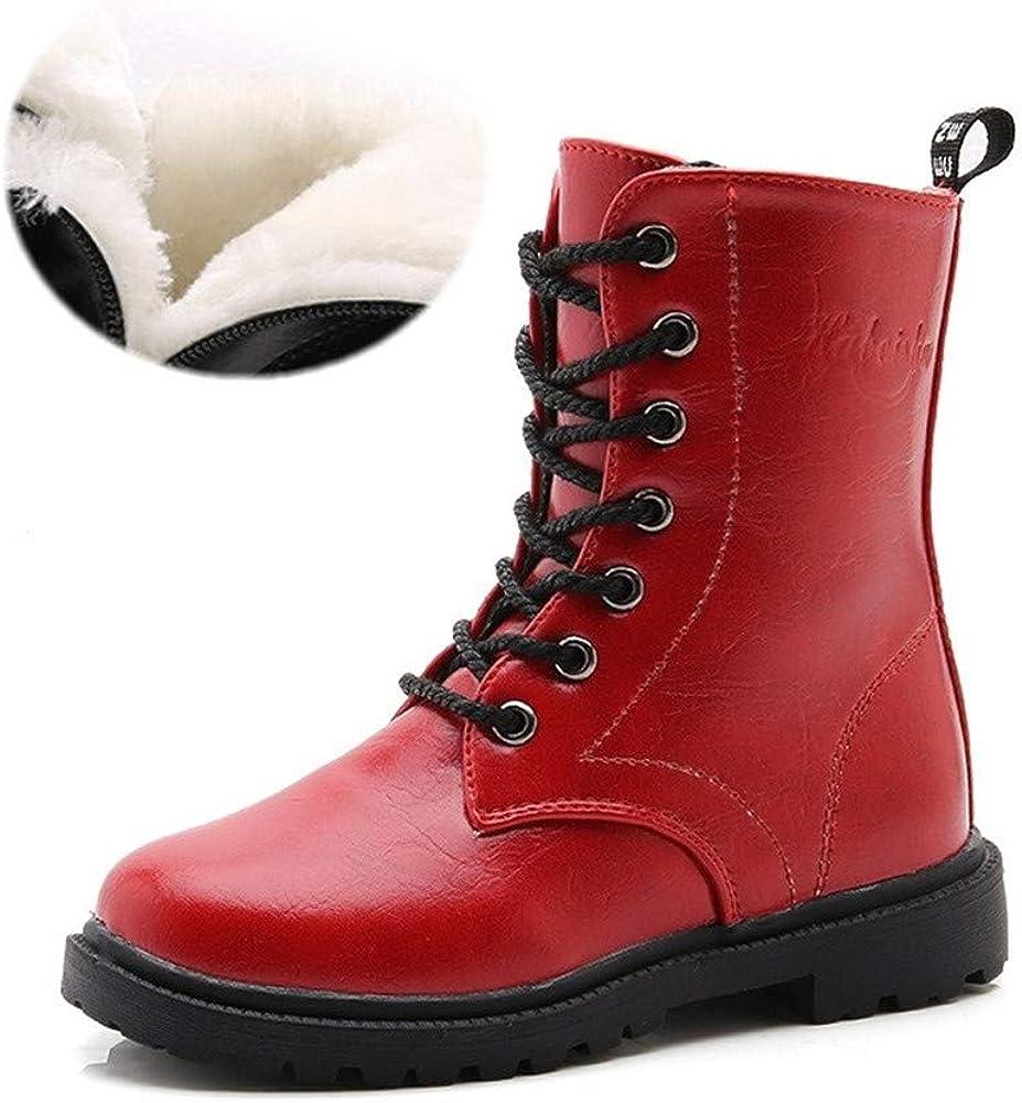 MODEOK Boys /& Girls Snow Boots Shoes Toddler//Little Kid//Big Kid