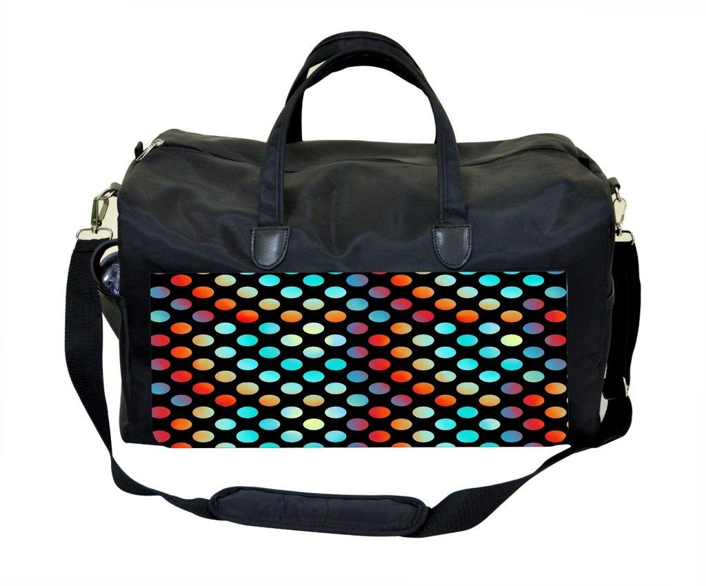 Jacks Outlet Ombre Polka Dots Gym Bag