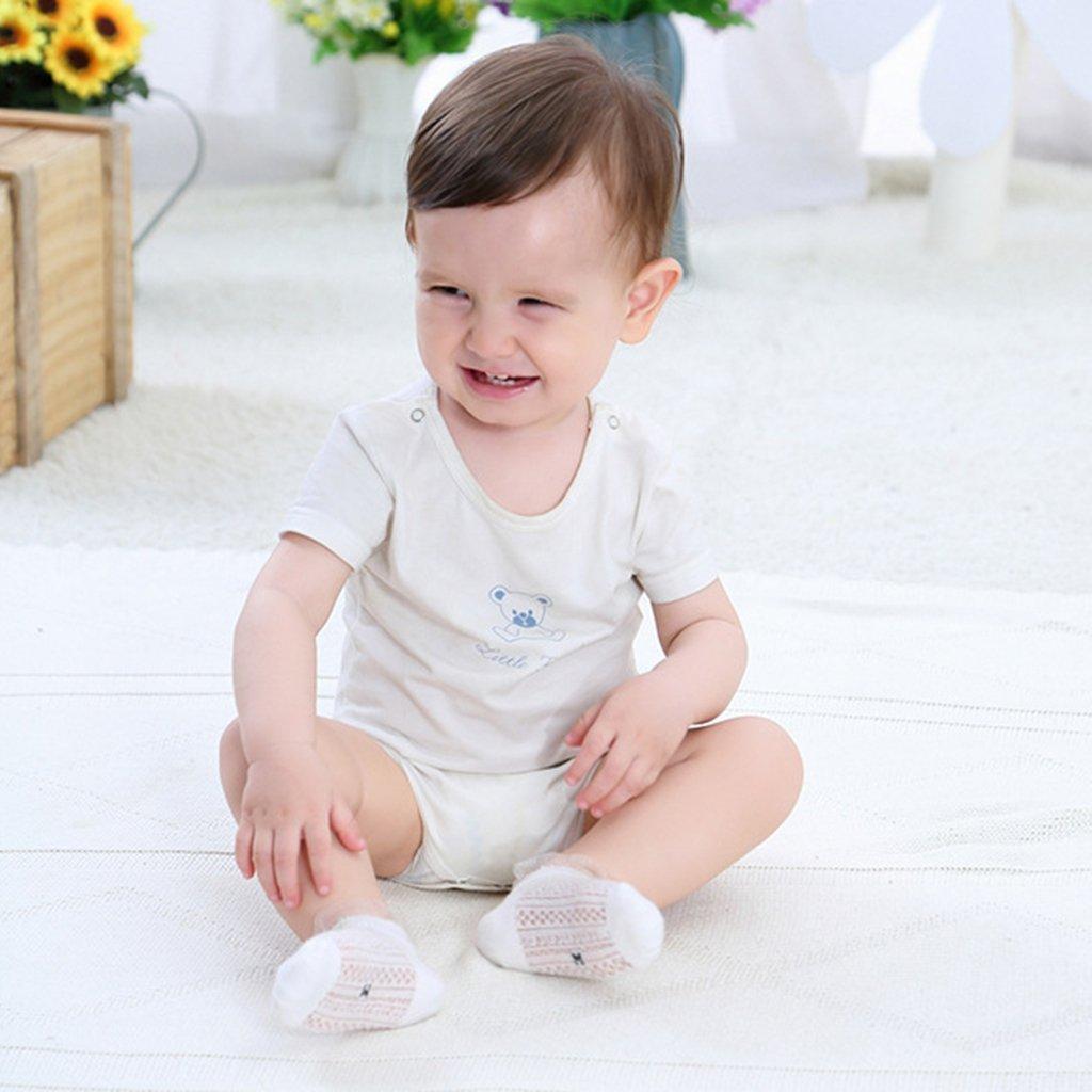 #1 0-1 mesi MagiDeal 5 Coppia Calza Calzino della Cotone Estate per Prima Infanzia Bambini