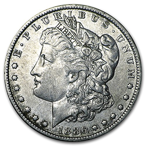 (1886 O Morgan Dollar XF $1 Extremely Fine)