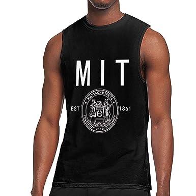 Massachusets Institute Technology MIT Logo Men/'s Black T-Shirt Size S to 3XL