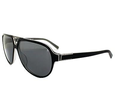 Amazon.com: Calvin Klein anteojos de sol 7858sp 001 negro ...