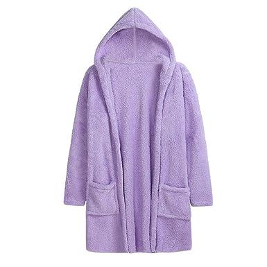 Damen Pullover Tops Winter Warm Einfarbig Lange Ärmel Irregulär Stricken Sweater