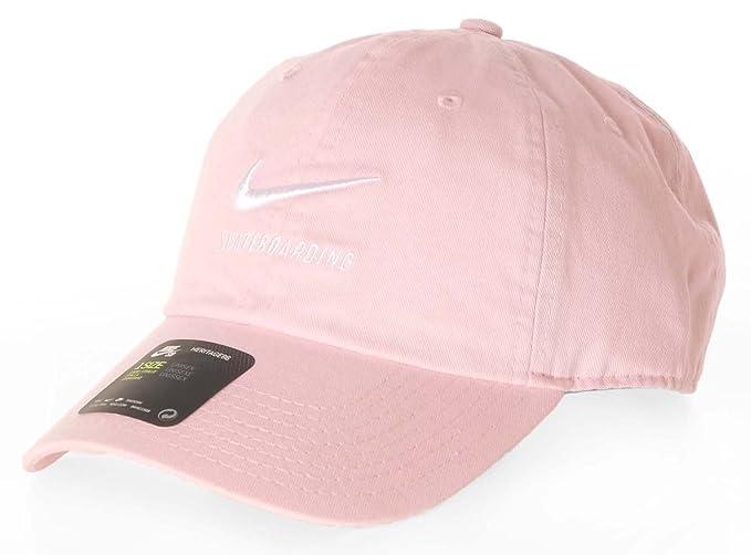a0b8594adcdad Nike SB H86 Twill Cap Prism Pink Black White O S  Amazon.es  Ropa y  accesorios