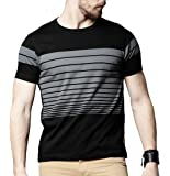 STYLENTO Men's Half Sleeve Round Neck Solid Cotton Tshirt