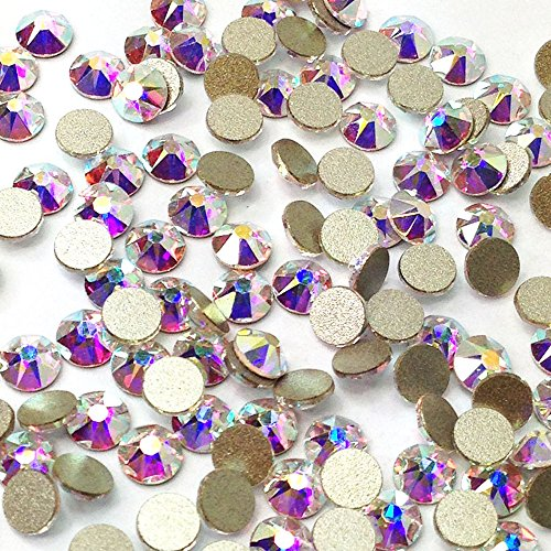 144 Swarovski 2058 16ss 4mm flatback rhinestones ss16 CRYSTAL AB F (Original Version) ()