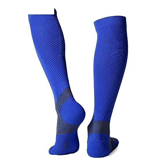 Amazon.com : 1 Pair Professional Long Mens Cycling Socks Bike Anti-Slip Running Compression Sport Socks Leg Shin Guard Protector : Sports & Outdoors