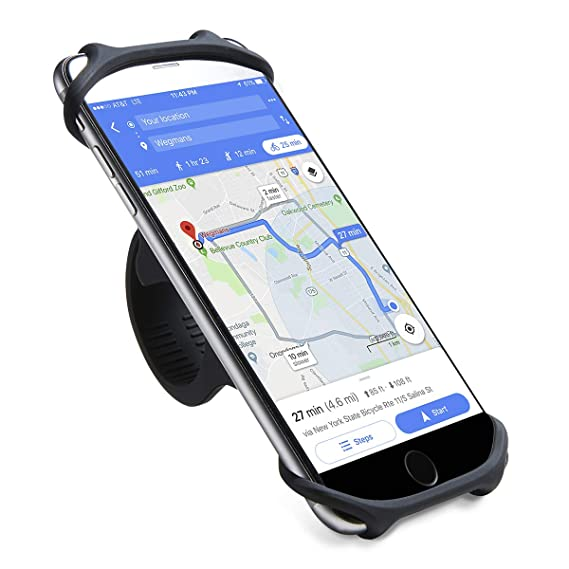 new product 7017d 1dcb0 Cyclepartner Universal Phone Mount for Bike Non-Slip Shockproof German  Silicone Cellphone Bicycle Motorcycle Holder Mobile Smartphone Compatible  for ...