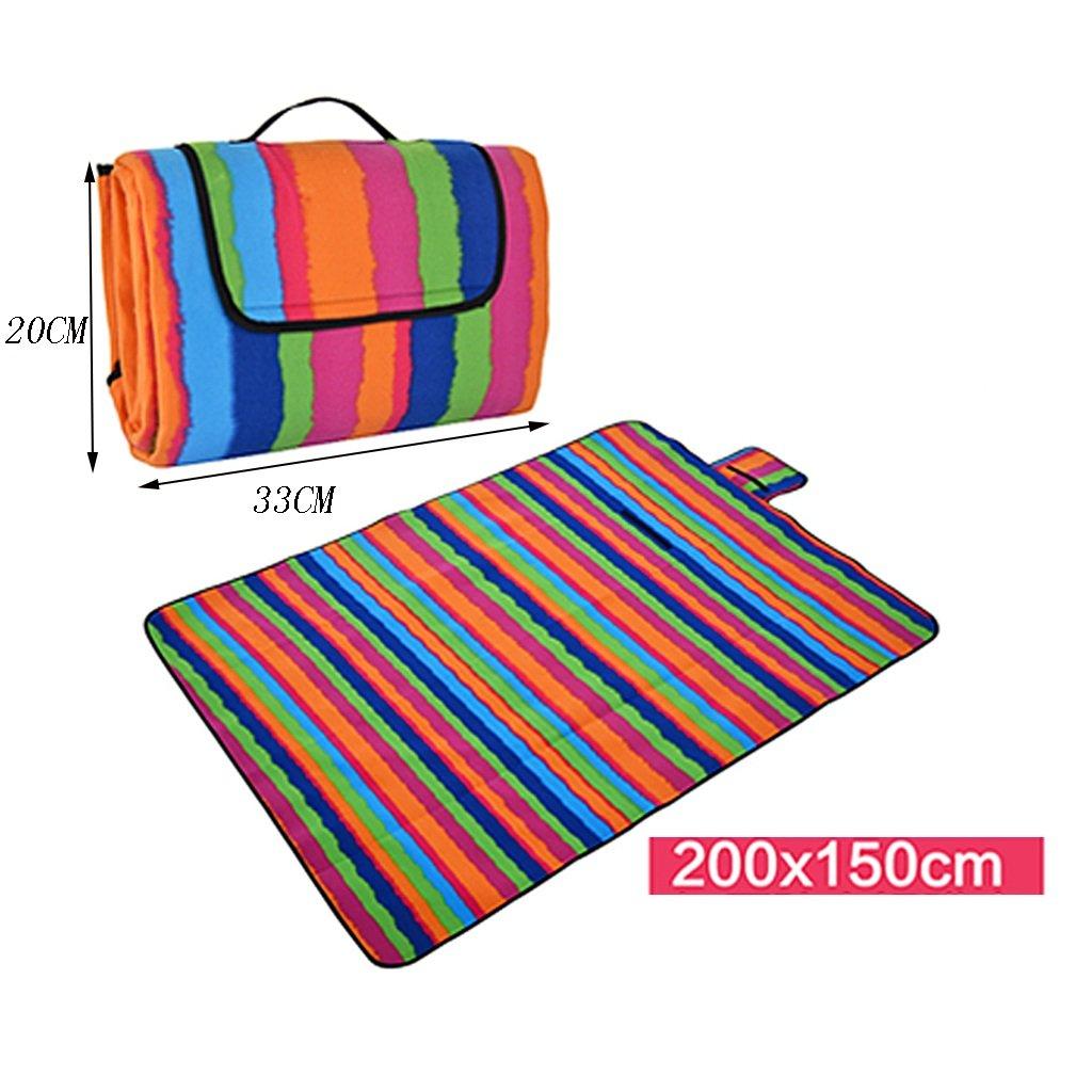 ZXLDP Picknickdecken Picknick-Matten Moisture-Proof Pad Outdoor Portable Portable Portable Wasserdichte Rasenmatten Viele Menschen Zelt Zubehör B0734JRMR7 | Vorzüglich  66f1c0