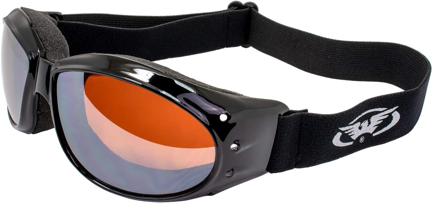 Red Baron Motorcycle/Aviator Goggles