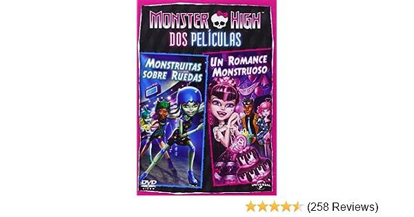Amazon.com: Pack Monster High: Monstruitas Sobre Ruedas + Un Romance Monstruoso [DVD] [DV: Movies & TV