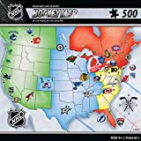 Masterpieces NHL USA Map 500pc Puzzle
