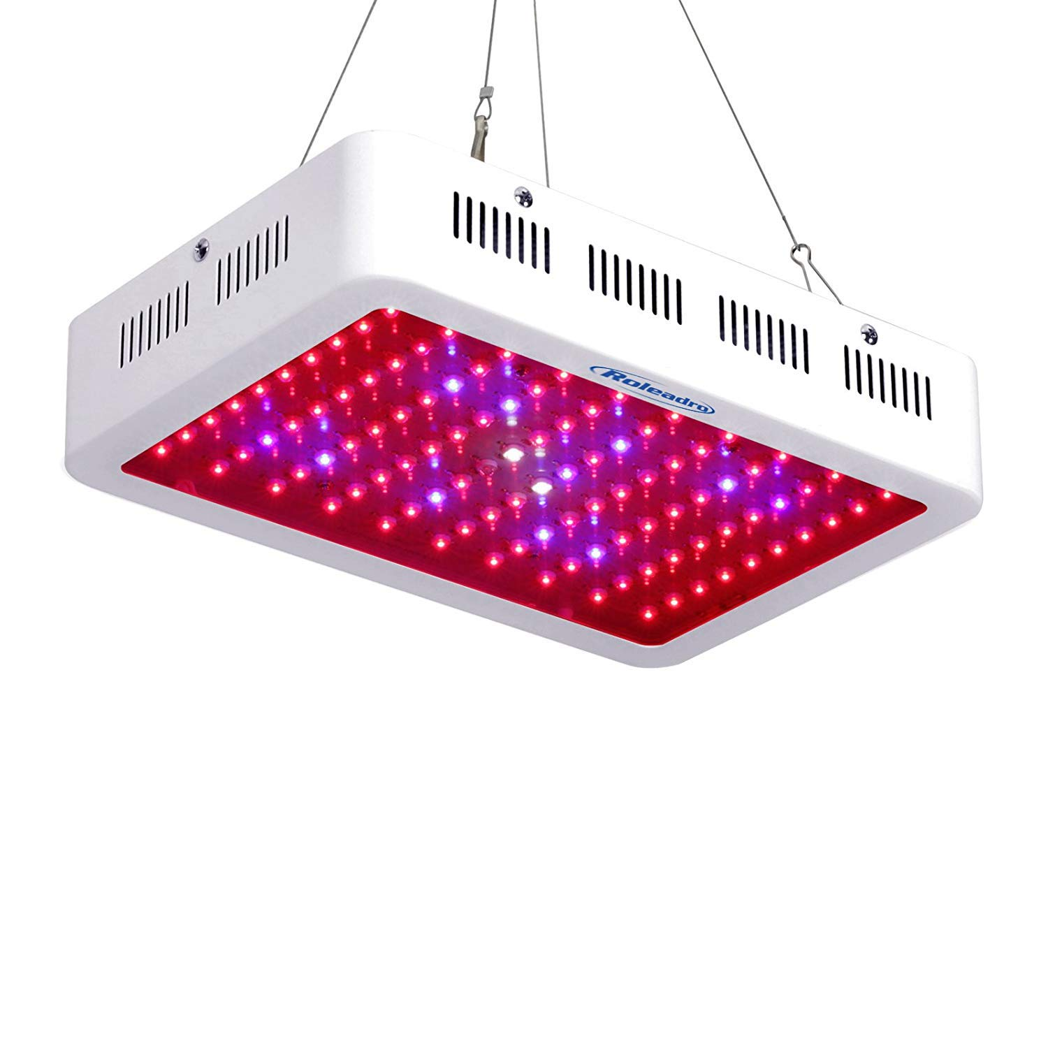 Roleadro Led Grow Light 300W COB Full Spectrum Light Grow Lamp Hydroponic Light for Indoor Hydroponic Plant Growing in Grow Box/Grow Tent