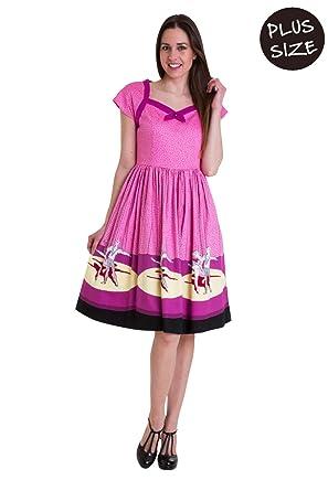 Banned Ballerina Border Cap Sleeve Plus Size Dress at Amazon Women\'s ...