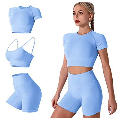 Women/'s 2 Piece Tank Top Shorts Stretch Workout Yoga Gym Running Athletic  Set