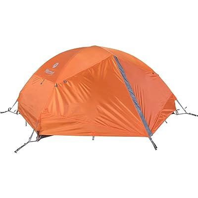 Marmot Unisexe Forteresse 2P tentes, Clémentine/gris Storm, One
