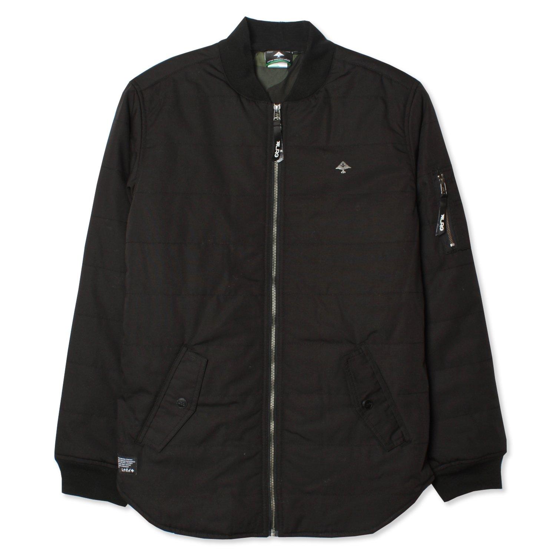 LRG Mens Night Call Jacket- Black 2X-Large by LRG