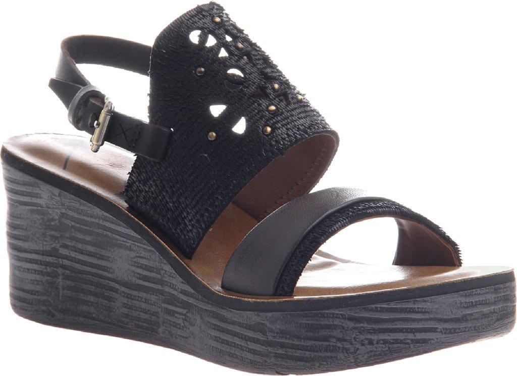 OTBT Women's Hippie Wedge Sandal B06XG73F8S 9.5 B(M) US|Black
