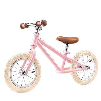 DUWEN Bicicleta Infantil de Dos Ruedas con Ruedas deslizantes y sin Pedales para Coche de Equilibrio