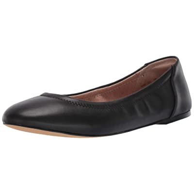 Amazon Brand - 206 Collective Women's Lara Leather Ballet Flat: Shoes