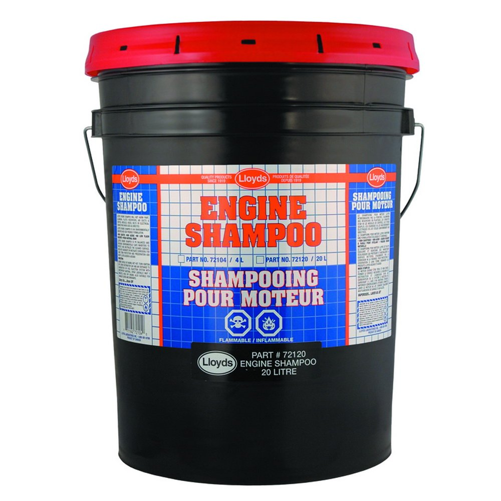 Engine Shampoo - Orange Solvent Based, 72120, 20 L pail (5.25 gal)