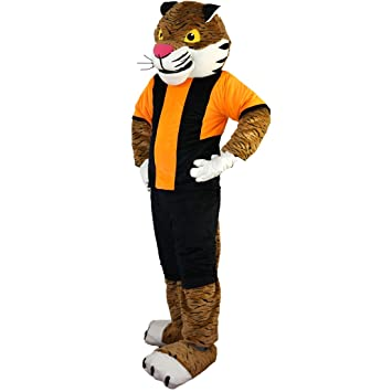 Langteng Sport Tiger - Disfraz de Mascota de dibujos animados (15 ...
