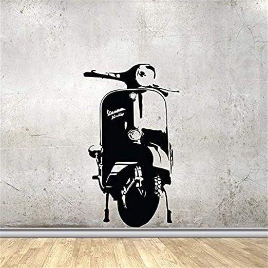 zqyjhkou Tatuajes de Pared Scooter de La Bici de La Motocicleta ...
