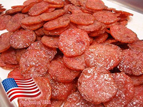 Made to Order Fire-Grilled Asian Minced Pork Jerky (Original Flavor - Medallion Shaped - 4 Ounce) aka Singapore Bak Kwa - Los Angeles Times