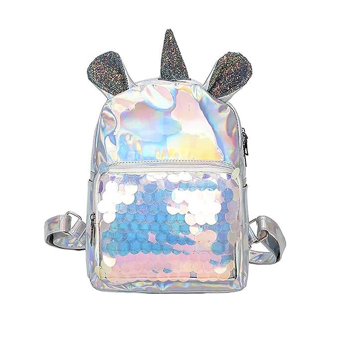 Mochila de Unicornio lentejuelas
