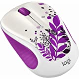 Logitech M325c Wireless Mouse for Web Scrolling - Purple Peace