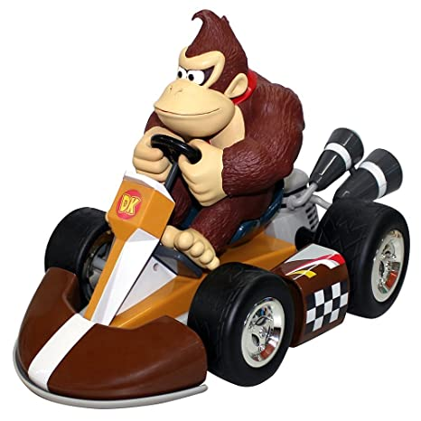 Mario Kart Wii Coche de cuerda Donkey Kong 12 cm