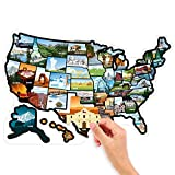 #6: RV State Stickers United States Travel Camper Map, 21