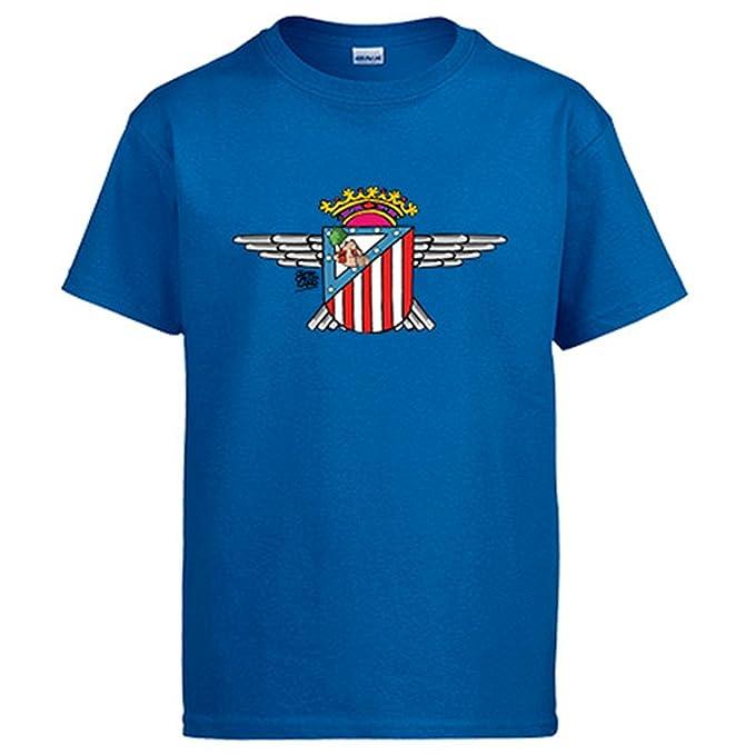 Diver Camisetas Camiseta Atlético de Madrid Atlético Aviación: Amazon.es: Ropa y accesorios