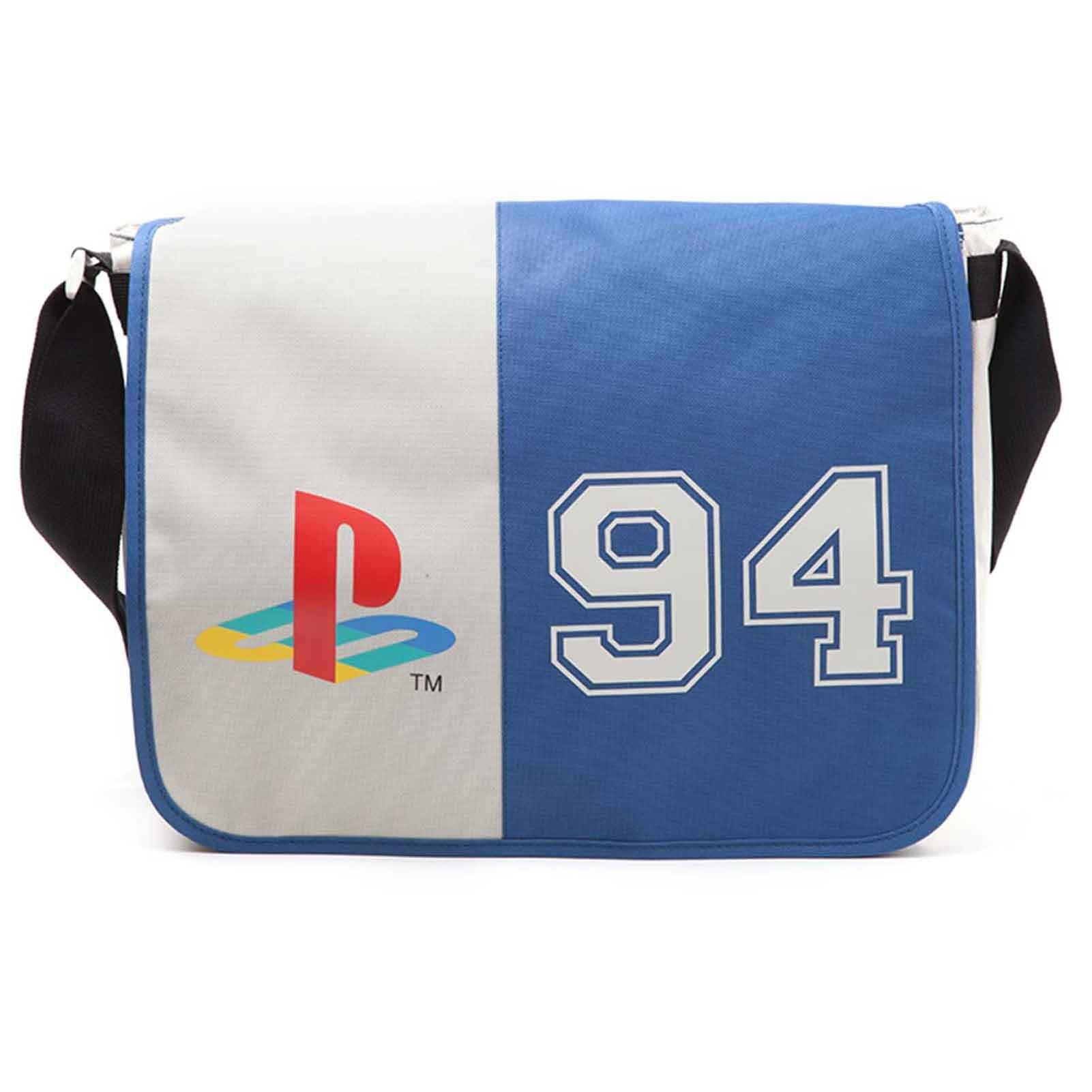 Playstation Messenger Bag Classic 94 Buttons Logo Official Gamer
