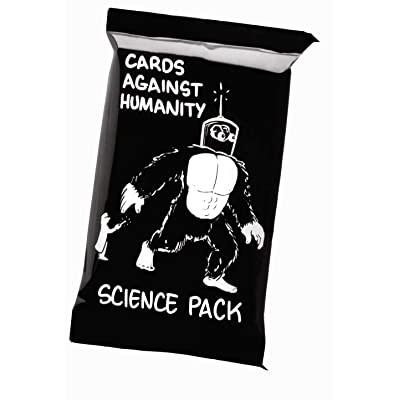 Cards Against Humanity Science Pack - 30 Card Science Expansion Pack for Cards Against Humanity Game: Sports & Outdoors