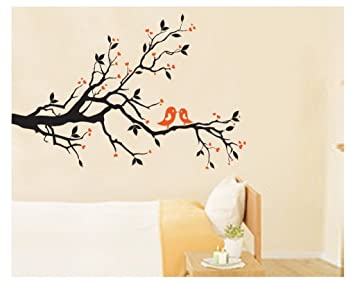 Amazoncom Aiwall 7051 Beautifully Wall Stickers Leiothrix Plum - Beautiful-wall-stickers-to-decorate-your-house