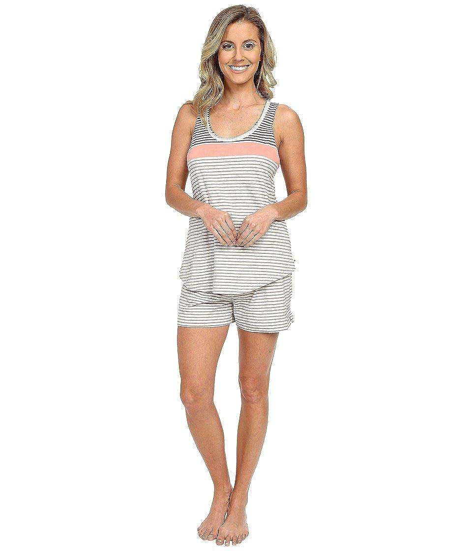 Buy Lucky Brand Women S Lucky Lounge Boxer Pajama Set Coral Yarn Dye Medium At Amazon In