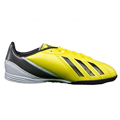 best service 7b480 47986 Adidas - F10 TRX TF J - Color  Black-Yellow-White - Size  3.5US, Soccer -  Amazon Canada