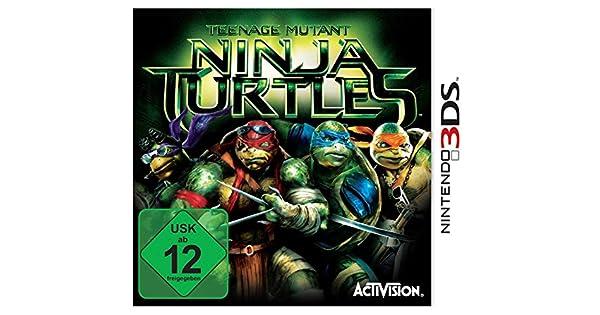Amazon.com: Teenage Mutant Ninja Turtle Movie. Nintendo 3DS ...